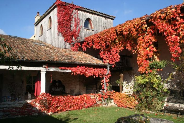 Klooster herfst