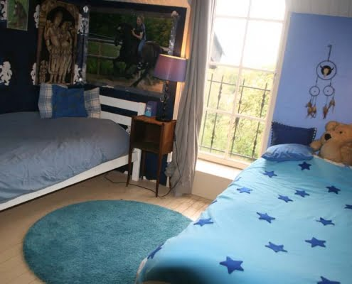 Salon - Blauwe slaapkamer